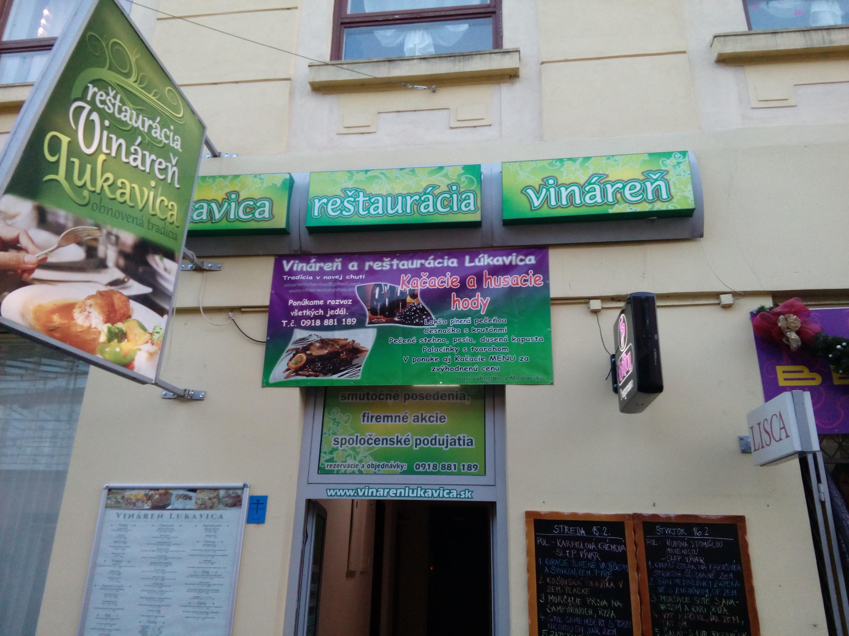 Restaurant und Cafe in Lukavica | Region Trenčín